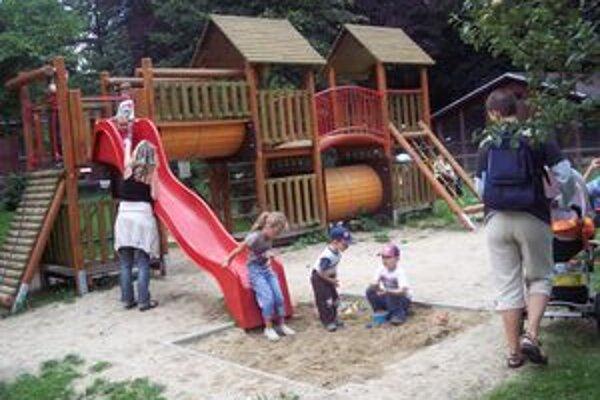 Aby sa deti vždy mali kde bezpečne hrať.