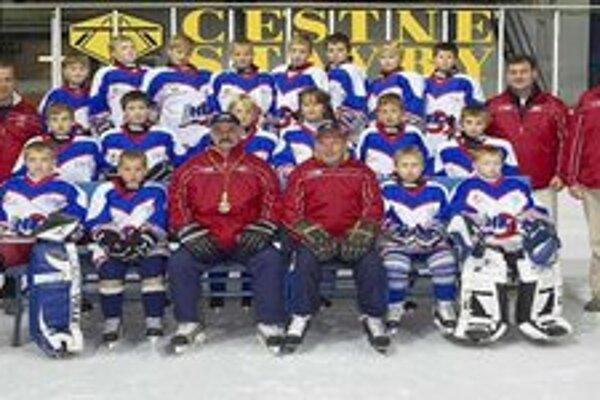 Jedna z hokejových tried v Základnej škole Márie Rázusovej - Martákovej v Liptovskom Mikuláši.