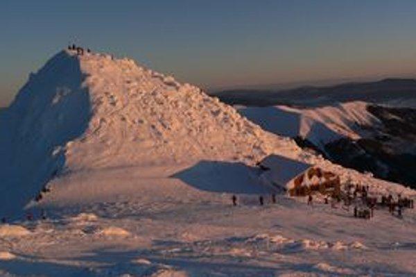V Jasnej je najväčšie stredisko zimných športov.