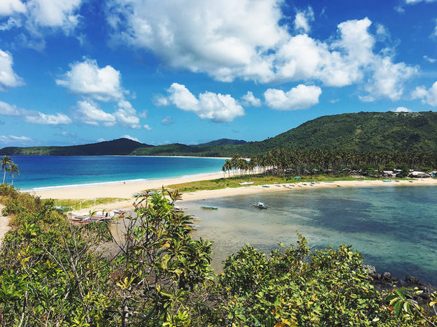 Pláž Nacpan, El Nido, Filipíny