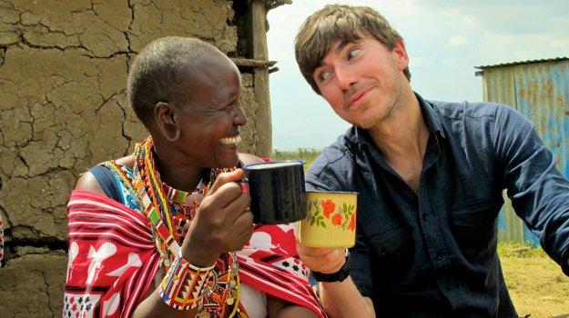 Lucy Seleyian vedie komunitu Masajov, ktorá sa z dobytku preorientovala na čaj.