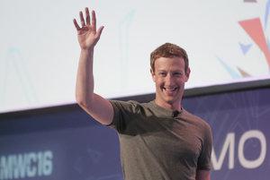 Zakladateľ a riaditeľ Facebooku Mark Zuckenberg.