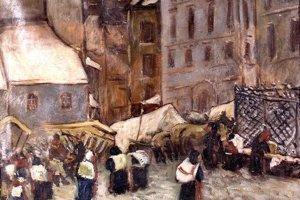 Trh v Banskej Štiavnici od Kollára.