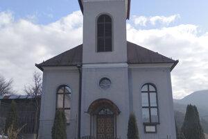 Evanjelický kostol sv. Trojice v obci Veľký Folkmar, v ktorom ako kantor pôsobil Vladimír Ďurkovič.