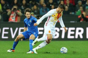 Alvaro Morata. (vpravo)