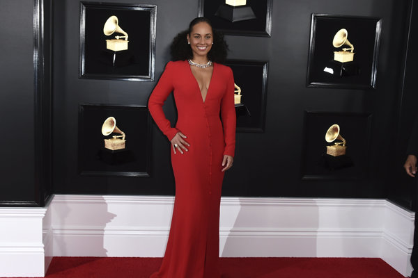 Alicia Keys moderovala Grammy Awards 2019