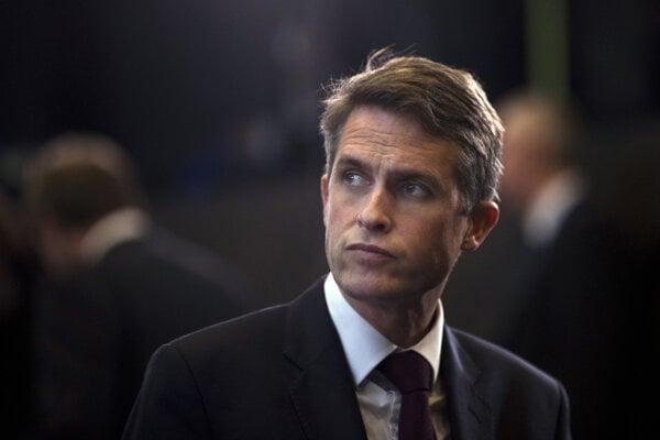 Britský minister obrany Gavin Williamson.