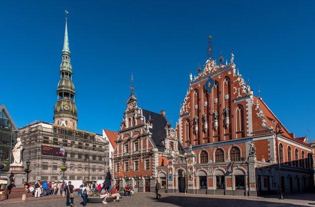 Dom čiernych hláv, Riga.
