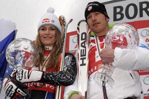 S lyžiarom  Bode Millerom v talianksom Bormio.