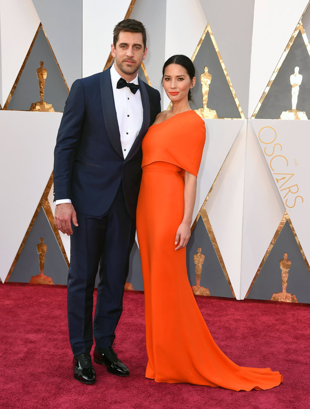 Aaron Rodgers a Olivia Munn