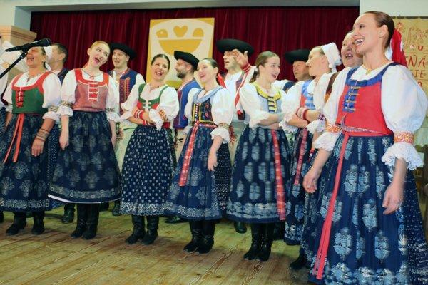 Spomienková akcia na Jozefa Strečanského sa, pochopiteľne, niesla vo folklórnom duchu.