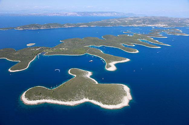 Pakleni otoci, Jadranské more.