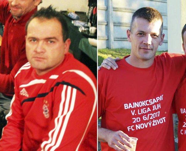 Patrik Dubnička (vľavo) sa vzdal funkcie predsedu klubu. Anton Barčák (vpravo) je jednou z nových posíl mužstva.