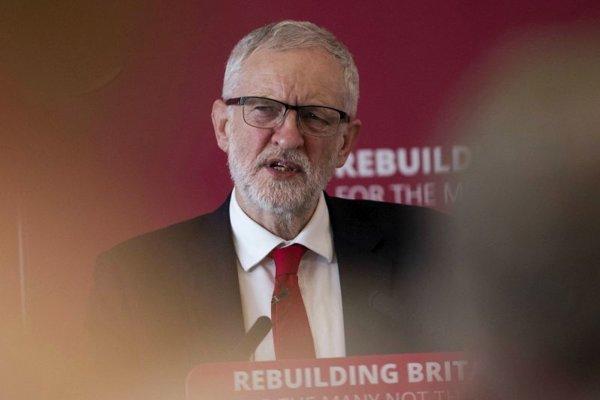 Líder opozičnej Labouristickej strany Jeremy Corbyn.