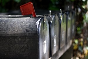 Poštové schránky (ilustračné foto).