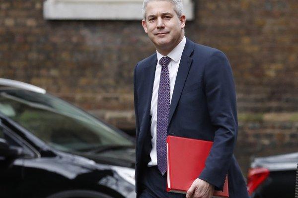 Britský minister pre brexit Steve Barclay.