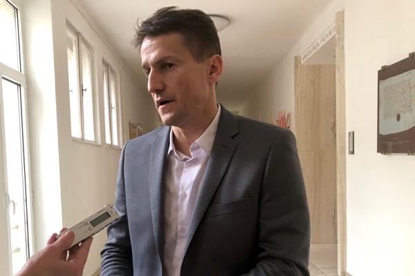 Nový náčelník trenčianskej mestskej polície Peter Sedláček.