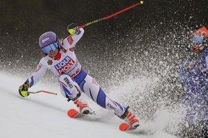 Francúzka Tessa Worleyová, 5. miesto po úvodnom kole.