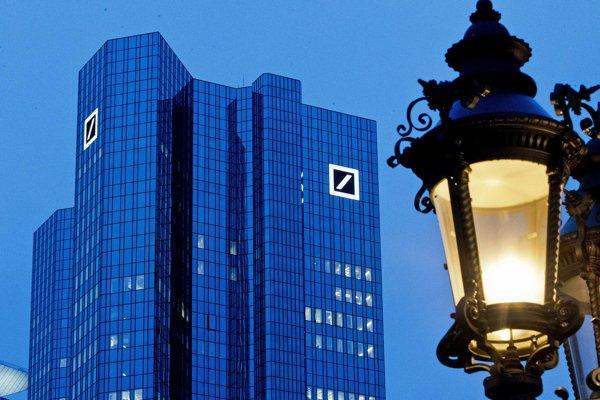 Centrála najväčšej nemeckej banky Deutsche Bank vo Frankfurte nad Mohanom.