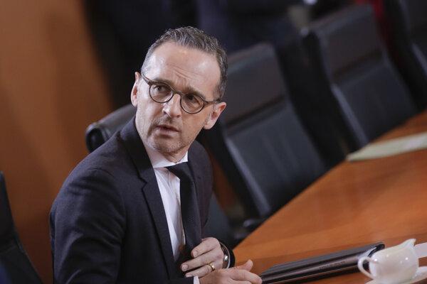Nemecký minister zahraničných vecí Heiko Maas.