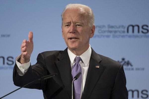 Bývalý americký demokratický viceprezident Joe Biden.