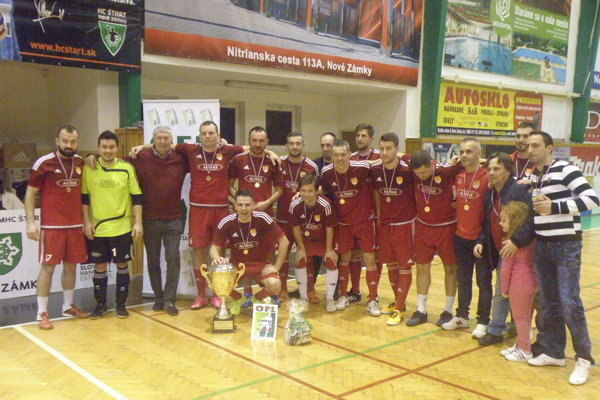 Víťaz aktuálneho ročníka Okresnej futsalovej ligy – ALTRAX.