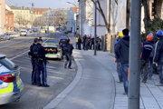 """Polícia uviedla, že situácia je už """"pod kontrolou"""" a verejnosti žiadne nebezpečenstvo nehrozí."""