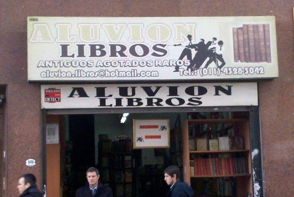 Aluvion Libros Buenos Aires