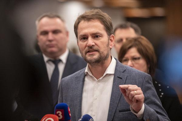 Poslanec NR SR a predseda strany OĽaNO Igor Matovič.