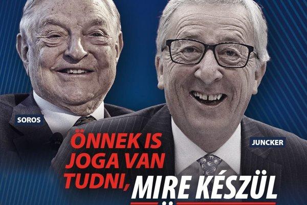Máte právo vedieť, čo pripravuje Brusel, hovorí nová kampaň Fideszu.