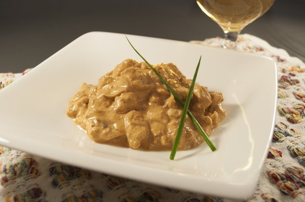 Stroganov patrí v Petrohrade k najobľúbenejším jedlám.