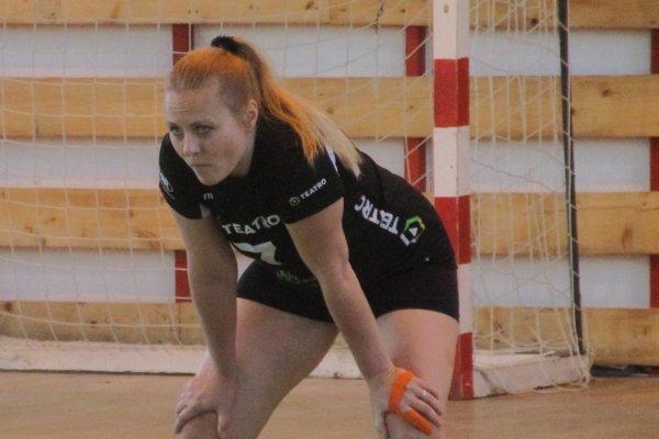 Lucia Kačániová patrí medzi skúsené hráčky Slovana.