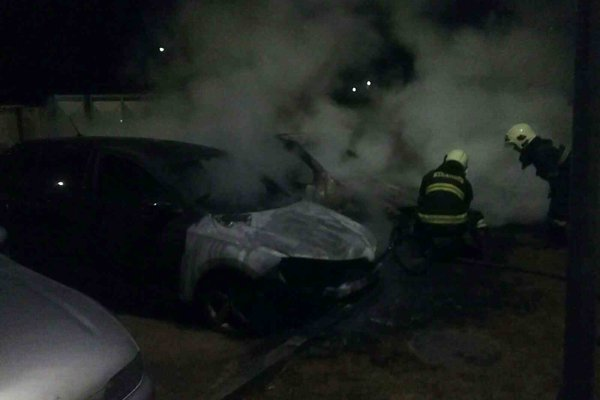 Na mieste boli hasiči aj polícia.