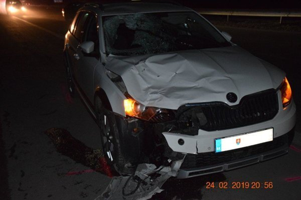 Dopravná nehoda na rýchlostnej ceste PR3.