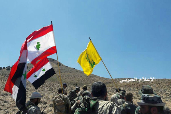 Žltá vlajka hnutia Hizballáh