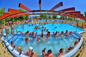 Veľký bazén bude kdispozícii nepretržite.