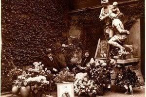 Zlatá svadba -  pamätná fotografia k 50. výročiu svadby Gejzu a Eleonóry , Budapešť.