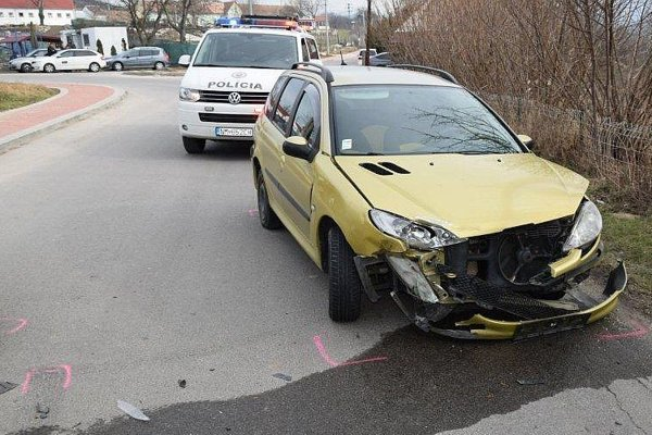 Po nehode.