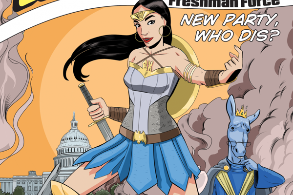 Najmladšia kongresmanka v americkej histórii je už aj superhrdinkou.
