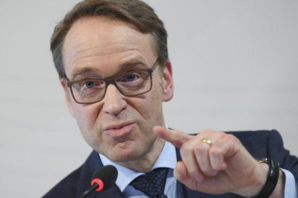 Jens Weidmann, šéf nemeckej centrálnej banky.