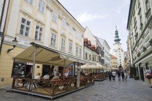 Centrum Bratislava Staré Mesto.