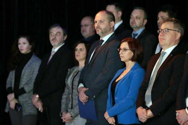 Slávnostný ceremoniál. Košice sú od januára oficiálne Európskym hlavným mestom dobrovoľníctva 2019.