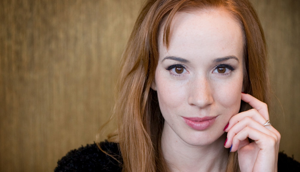 Súčasná slovenská herečka Táňa Pauhofová.