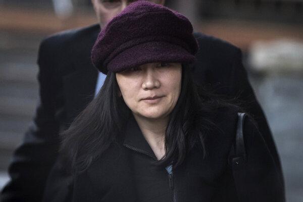 Meng Wan-čou, finančná riaditeľka spoločnosti Huawei.