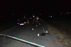 Smrteľná dopravná nehoda v Kráľovskom Chlmci.