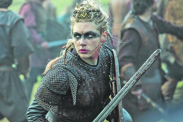 Snímka zo seriálu Vikingovia