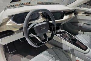 Interiér Audi e-tron GT