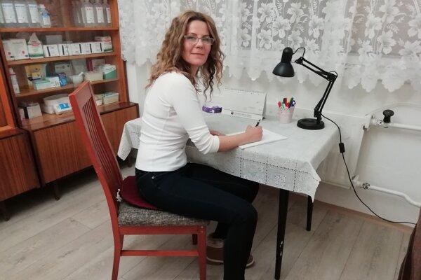 Lucia Ovečková chce ľuďom pomáhať, dokiaľ bude môcť.