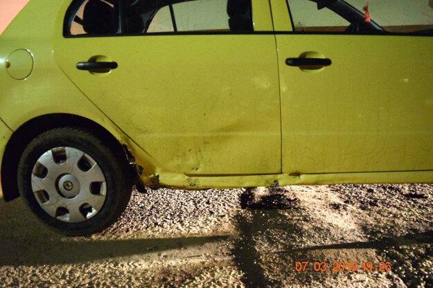 Auto šoféroval sedemnásťročný tínedžer.