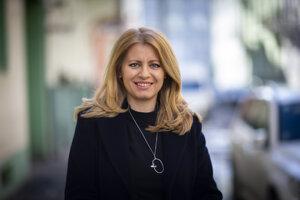 Prezidentská kandidátka Zuzana Čaputová.